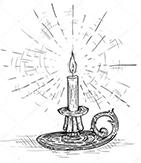 Учимся жечь свечи из вощины