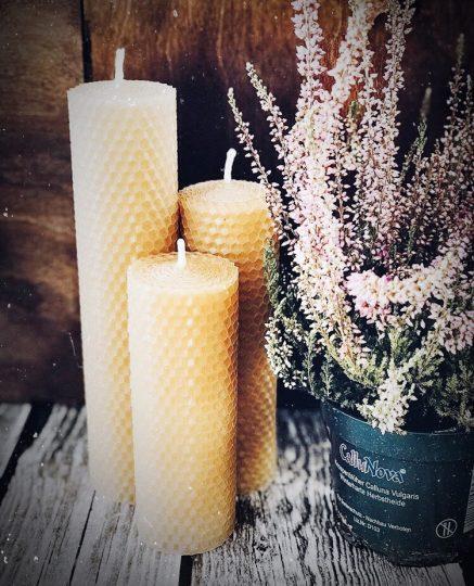 свечи и вощины organicspace